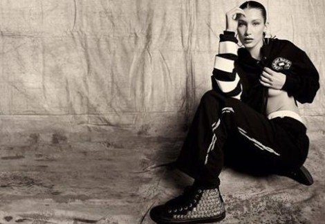 bella hadid stilista per chrome hearts