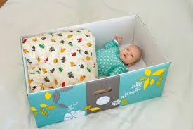 pacco regalo bambini box culla