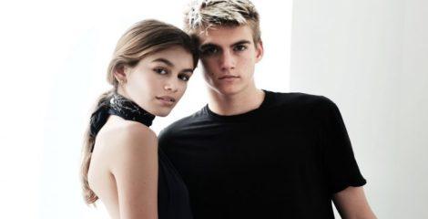 0806c59c1e20 Kaia e Presley Gerber sono i protagonisti della nuova campagna primavera  estate 2018 di Calvin Klein. I due bellissimi figli di Cindy Crawford sono  stati ...