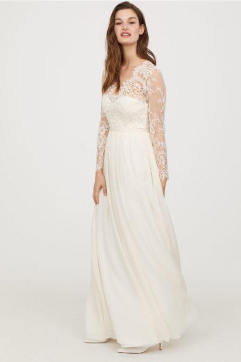 H M lancia l abito da sposa come quello di Kate Middelton spendendo ... 2d2990cc2e6